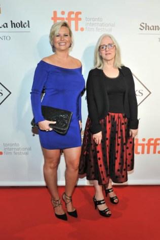 Eva Hartling and Carolle Brabant