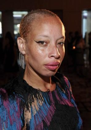 Stacey McKenzie wearing Birks earrings