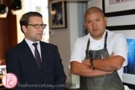 Alexander Neef, COC's General Director and Chef David Lee