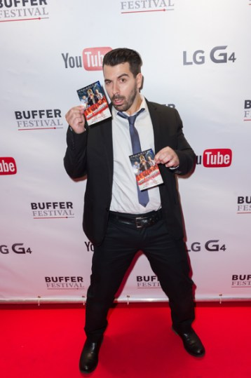 youtuber Joe Nation at bufferfest 2015
