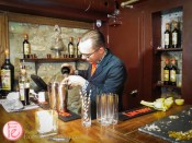 Jullian Sauso-Bawa Soho House maestro lucano cocktail competition