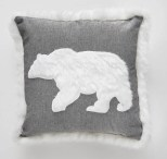 Giant Tiger polar bear cushion