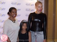 Stacey McKenzie and family starlight canada tea and tiaras