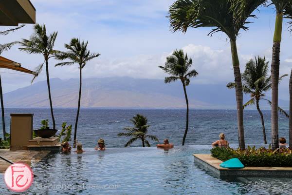 """四季渡假大飯店成人「無邊際泳池」(Serenity Pool) (Four Seasons Maui """"serenity pool"""")"""