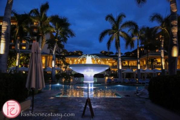 four seasons resort maui at night