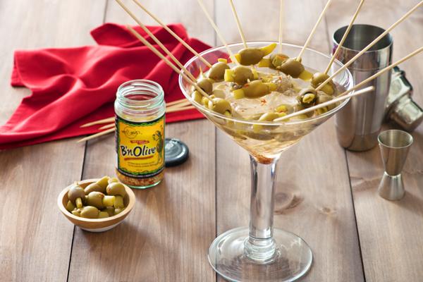 Boozy B'n Olives matt & steve's recipe