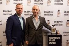 Dave Golokhov Disaronno x Roberto Cavalli Limited Edition Bottle disaronno wears cavalli launch