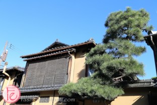 Japanese architecture in Gion area kyoto
