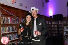hush hush party in the library 2015