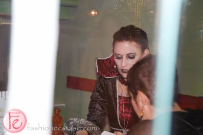 fortune teller at hush hush party 2015