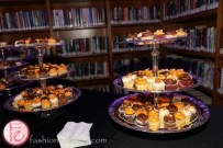 pumpkin cupcakes at hush hush halloween party