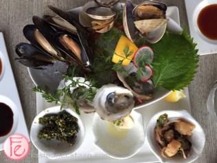 miku restaurant Coal Harbour Platter for two