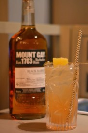 Moun gay rum Black Barrel Bridgetown Sour