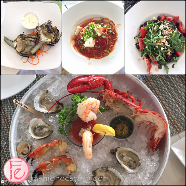 GG's Waterfront Bar & Grill seafood platter
