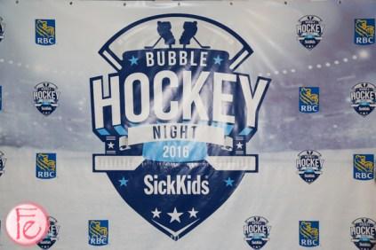 sick kids bubble hockey night 2016