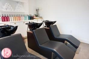 LAC + Co salon washing room