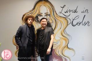 Johnny Ramirez and Tony Pham lac + co salon