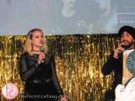 Liz Trinnear and Jus Reign hosting the academy social 2016
