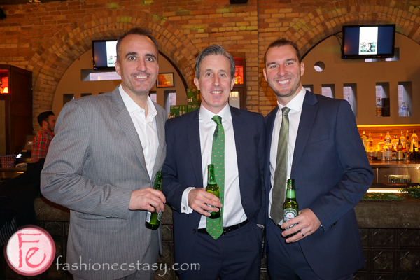 lucky ball 2016 fort york food bank Trevor Guy, Chris Murphy, Mike Acedo