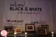 black and white with a touch of pink gala 2016