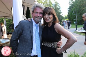 Jeanne Beker and Lain