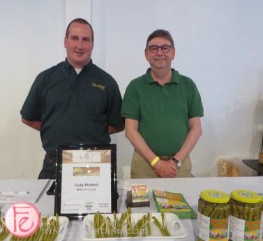 zesty pickled asparagus by Sunshine Farms
