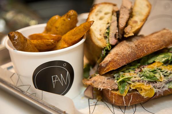 FAMO Sandwich-THE SIX- Braised Beef Tongue