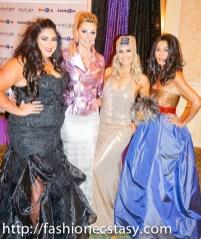 Real Housewives of Toronto (Roxy Earle, Joan Kelley Walker, Jana Webb, Ann Kaplan Mulholland) Starlight Gala 2017