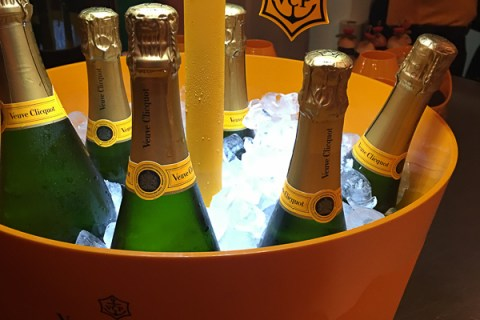 Veuve Clicquot Yelloweek 2017 launch