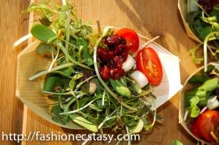 spicy microgreen salad by Greenbelt Microgreens