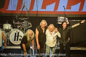 canadian rock band HOWZAT OPENING FOR URIAH HEEP-