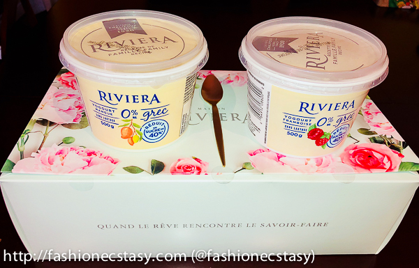 MAISON RIVIERA launches New Greek yogurt with 40 percent less sugar