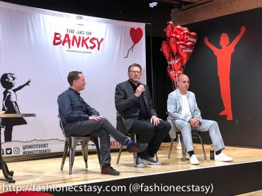 The Art of Banksy Toronto Corey Ross, Michel Boersma, Steve Lazarides