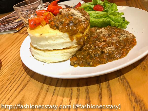 咖哩肉末鬆餅 curry minced-meat pancakes