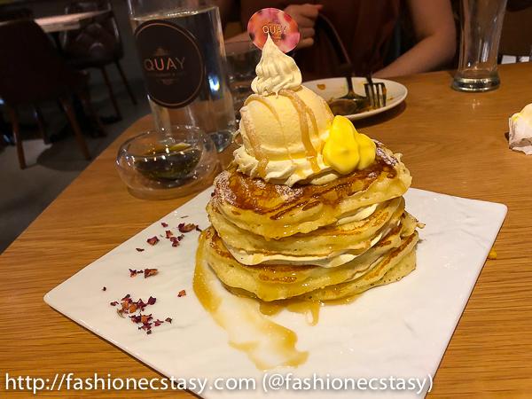 台北奎咖啡:原味鬆餅 Quays Cafe Taipei pancakes