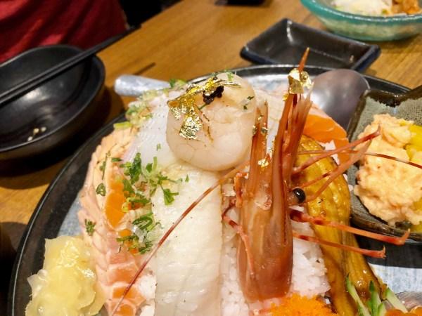 台北景美石川日本料理豪華散壽司