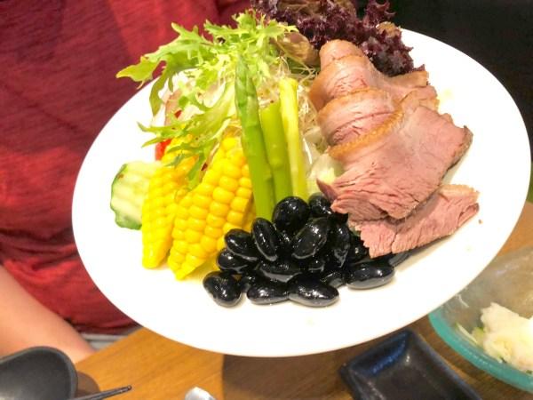 景美石川日本料理石川日本料理櫻桃鴨沙拉