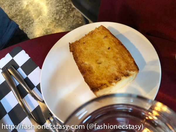 附餐佛卡夏麵包 focaccia- bread with set