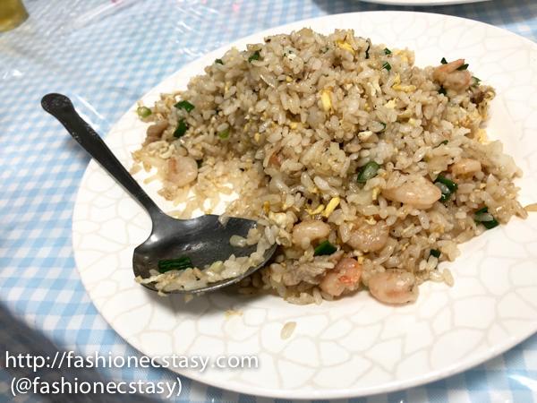 "台南走馬瀨農場「草原餐廳」「蝦仁蛋炒飯』 Tsou ma lai farm Grassland Restaurant - ""shrimp & egg fried rice"""