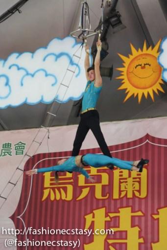 台南走馬瀨農場 「射箭區」烏克蘭特技表演Tsou ma lai farm tainan - Ukraine stunt show