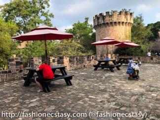 台中新社莊園古堡室外座位Taiwan Taichung Xinshe Castle patio