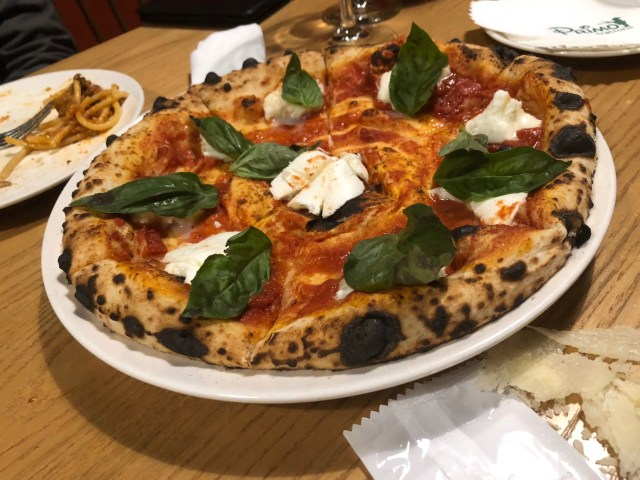 瑪格麗特披薩 (Pizza Margherita)