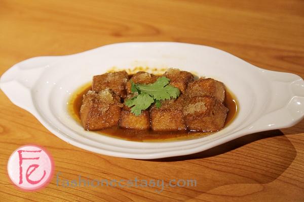 飛魚卵老皮嫩肉 叁和院 Crispy Deep fried Tofu with Flying Fish Roe