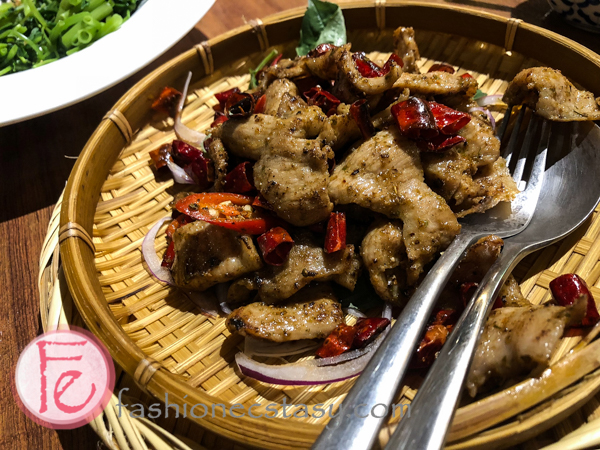 孜然松阪豬/ Stir-fried Pork Jowl with Cumin Flavour($360)