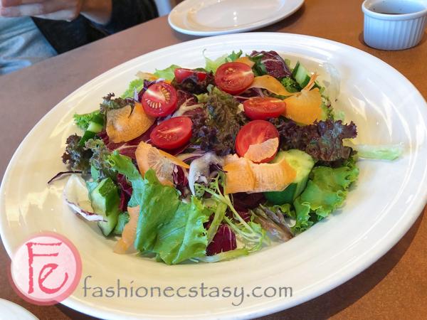 神旺商務酒店花園沙拉 San Want Hotel Taipei Residences garden salad