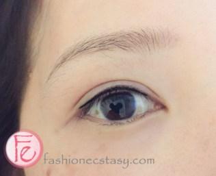 Twiggy 二訪繡眼線後 (右眼) Twiggy second eyeliner tatto session- After (right eye)