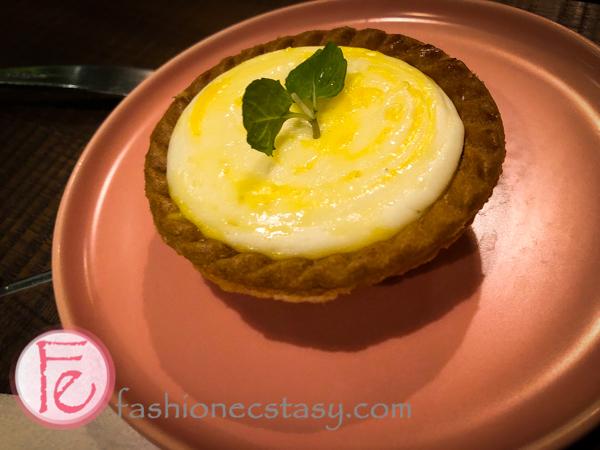 甜點半熟起司塔 / Baked Cheese Tart