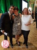 Karen Baxter (middle) - Taste Canada Executive Director