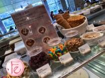 台北六福萬怡大飯店敘日餐廳冰淇淋 (Sunrise Restaurant Courtyard Marriott Taipei - ice-cream station)