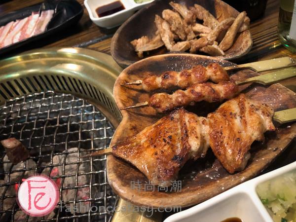 米炭火燒肉「焼き鳥」(烤小鳥) Mi BBQ Restaurant yakitori
